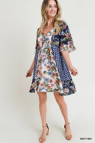 Pattern Play Dress