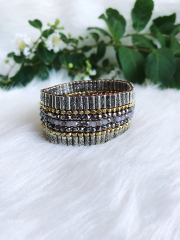 Beaded & Beautiful Handmade Bracelet