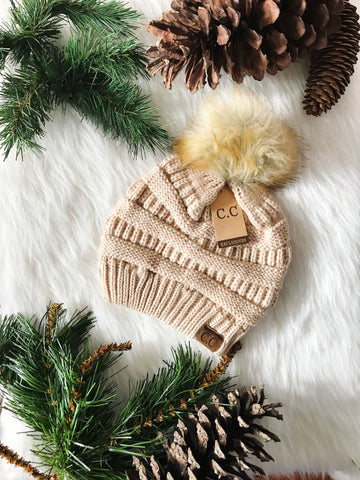 Pom Perfect CC Beanie-New Beige