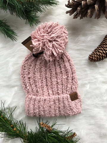 Winter Time CC Beanie- Pink