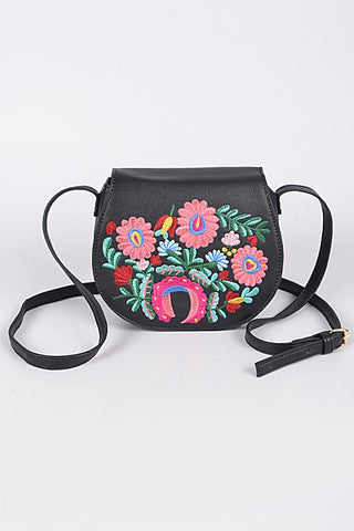 Everyday Embroidered Crossbody
