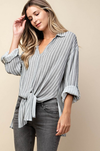 Noteable & Knotable Stripe Shirt