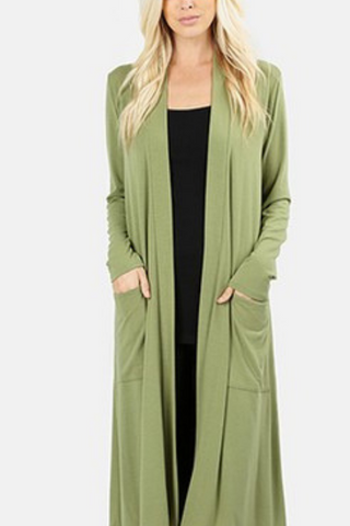 Essential Maxi Cardigan