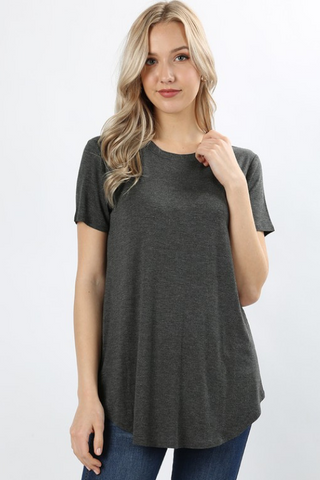 Rounded Everyday Tee - More Colors Available