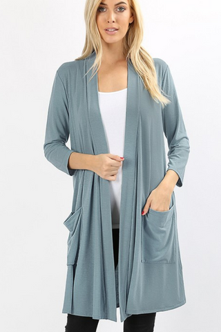 Easy Everyday Open Cardigan