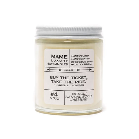 Quote Me Candle-Neroli Sandalwood Jasmine