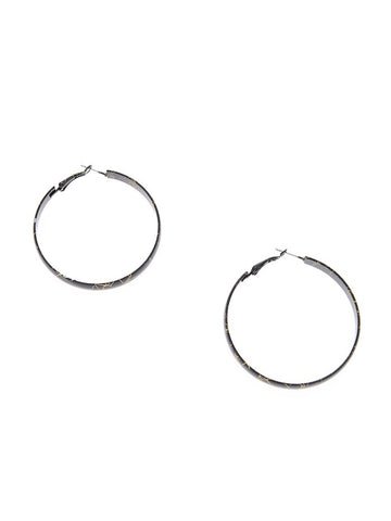 Color Hoop Earrings