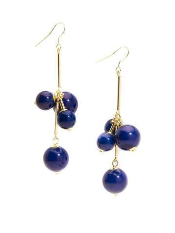 Opaque Ball Cluster Earring-More Colors Available