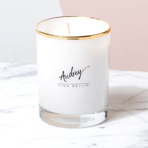 Old Hollywood Collection- Audrey, Pink Bellini