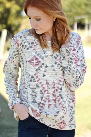 Trapeese Tweed Sweater