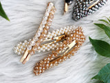 Glamorous Glass Hair Pin Set