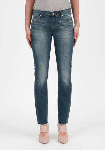Slim Straight Leg Denim