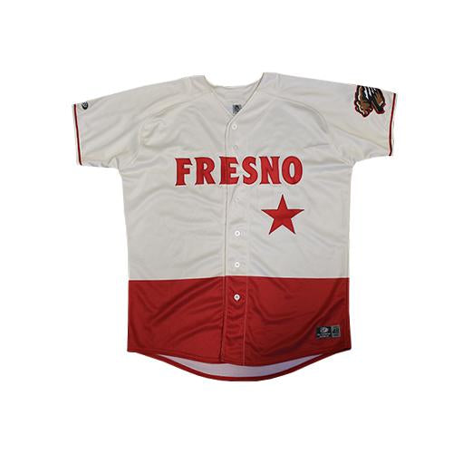 Fresno Grizzlies Replica Home Jersey