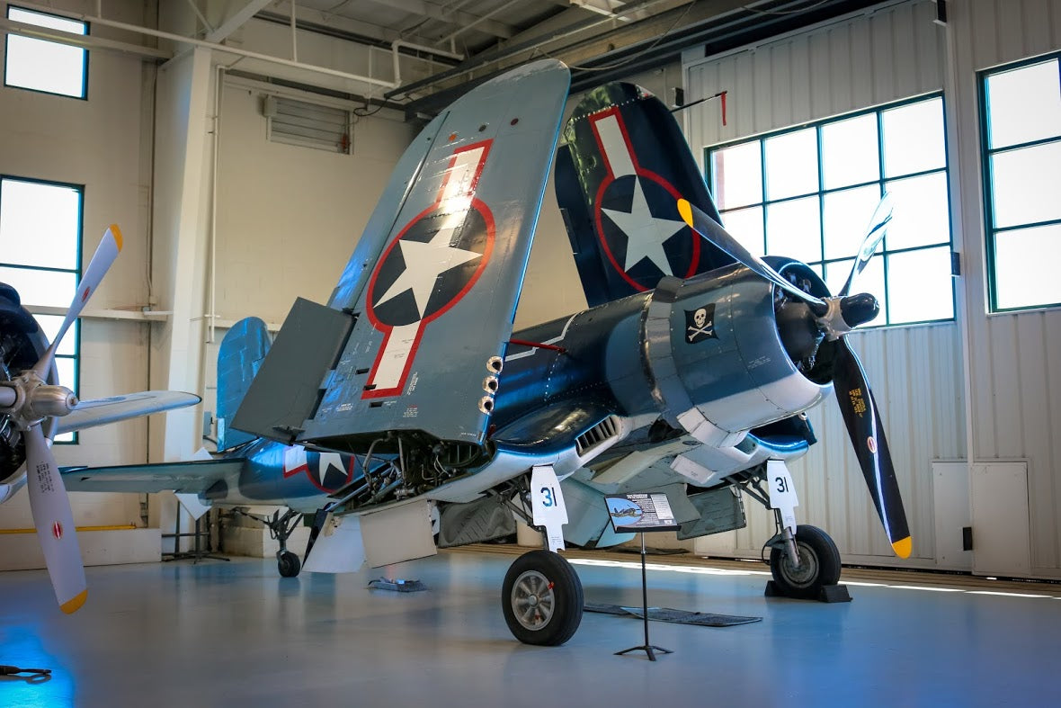 WWII fighter plane - FG-1 D Corsair