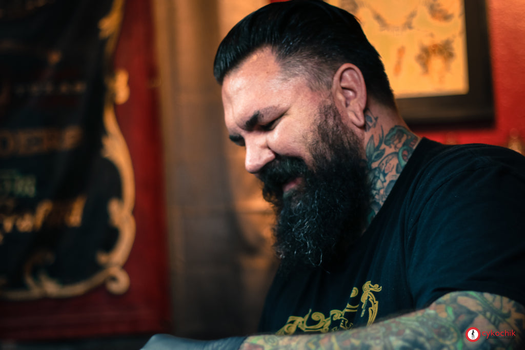 Cykochik J. Hall and Gentleman Tattooers Dallas