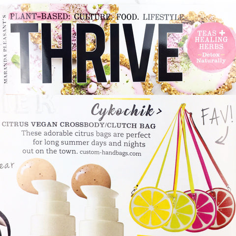 THRIVE magazine Cykochik