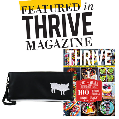 Thrive Magazine X Cykochik X The Humane League
