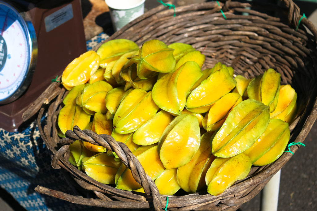 Maui Upcountry Farmers Market - Starfruit