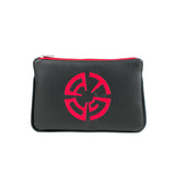 ATG Productions Vegan Flat Clutch/Crossbody Bag (Multicolored)
