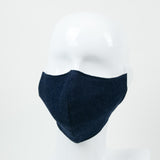 """Indigo"" Adjustable Fabric Face Mask"
