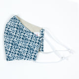 """Shibori"" Adjustable Fabric Face Mask"
