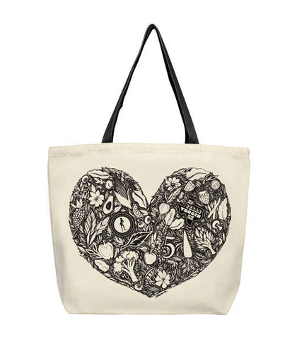 Cykochik X Texas Veggie Fair Vegan Canvas Tote - LIMITED EDITION