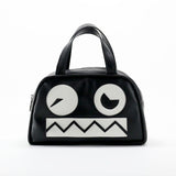 """Vanguard Bots"" Mini Robot Vegan Handbag by NYC artist Terris Poole"