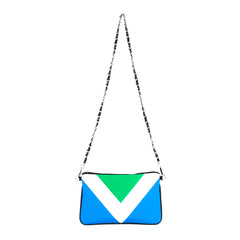 Vegan Flag International - Eco Canvas Vegan Clutch/Crossbody Bag