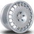 Rota D154, 17 x 8.5 inch, 5100 PCD, ET35 in Silver Single Rim