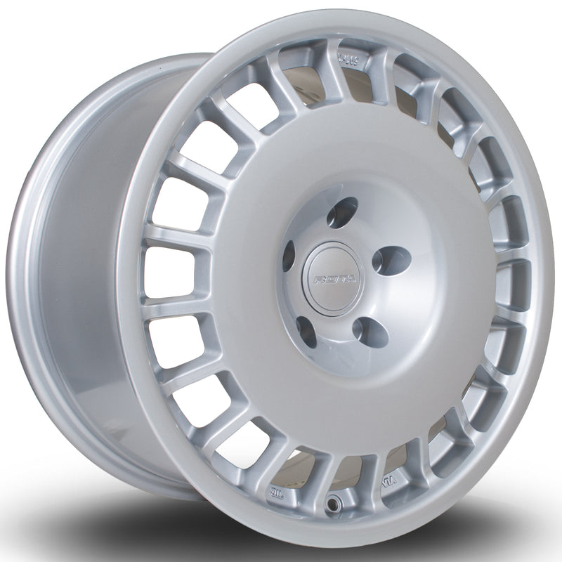 Rota D154, 17 x 8 inch, 4108 PCD, ET42 in Silver Single Rim - Rotashop