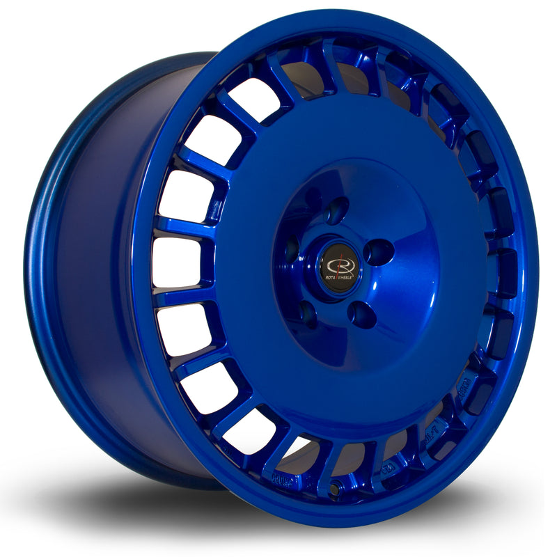 Rota D154, 18 x 8.5 inch, 5100 PCD, ET30 in Hyper Blue Single Rim - Rotashop