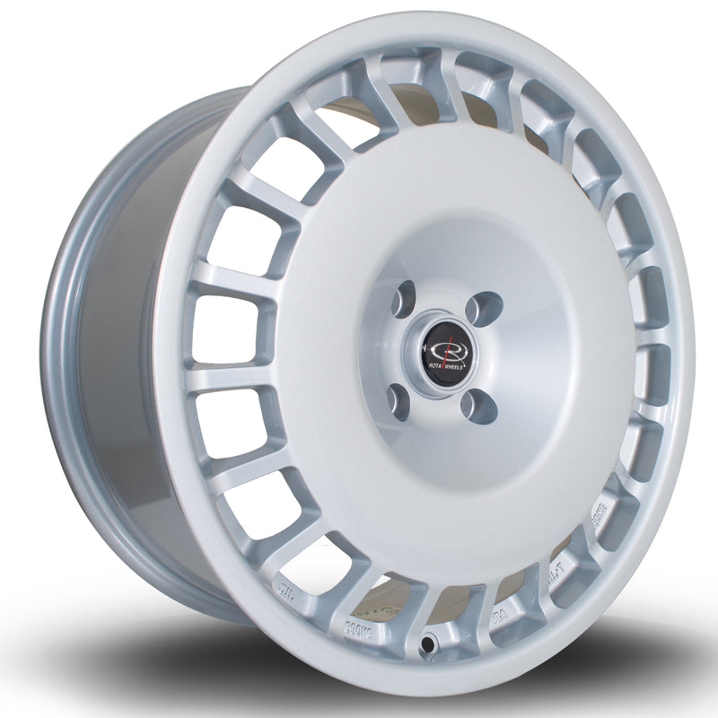 Rota D154, 18 x 8.5 inch, 5112 PCD, ET45 in Silver Single Rim - Rotashop