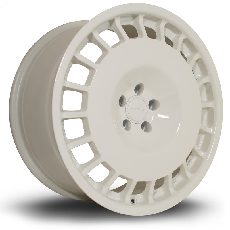 Rota D154, 18 x 8.5 inch, 5108 PCD, ET42 in White Single Rim - Rotashop