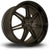Linea Corse Dyna, 19 x 10 inch, 5120 PCD, ET37 Flat Gunmetal with Gloss Black Lip
