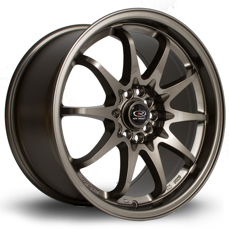 Rota Fight, 17 x 9 inch, 5100~5114 PCD, ET50 Bronze - Rotashop