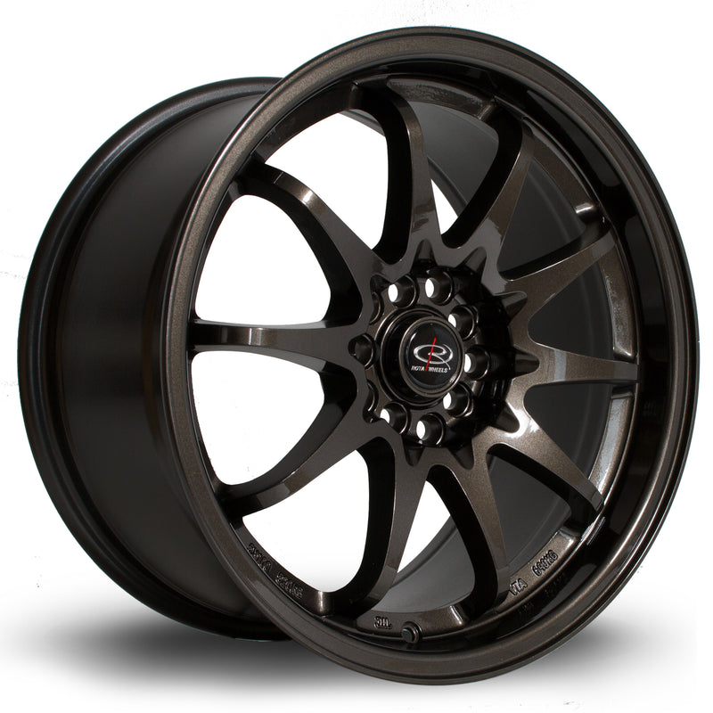 Rota Fight, 17 x 9 inch, 5100~5114 PCD, ET50 Gunmetal - Rotashop