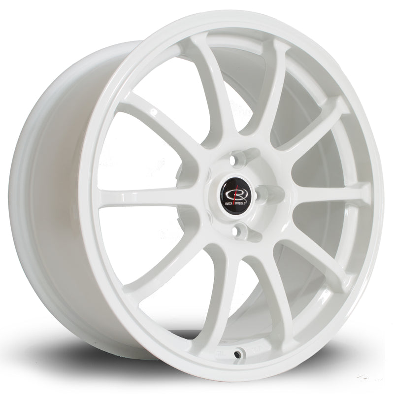 Rota Force, 17 x 7.5 inch, 5114 PCD, ET45 White - Rotashop