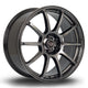 Rota Force, 18 x 8.5 inch, 5x108 PCD, ET42 Hyper Black