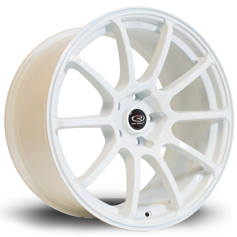 Rota Force, 18 x 9 inch, 5114 PCD, ET27 White - Rotashop