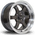 Rota Grid-V, 15 x 7 inch, 4100 PCD, ET20 Gunmetal Polished Lip