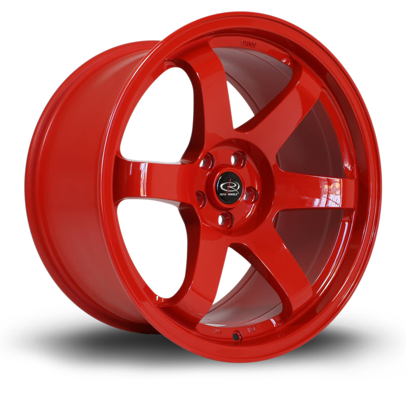 Rota Grid, 18 x 9.5 inch, 5114 PCD, ET20 Red - Rotashop