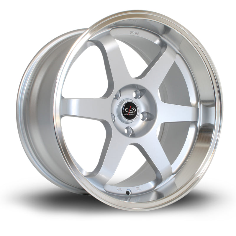 Rota Grid, 19 x 10.5 inch, 5114 PCD, ET20 Silver with Polished Lip - Rotashop