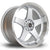 Rota GTR-D, 18 x 10 inch, 5114 PCD, ET12 in Silver with Polished Lip Single Rim