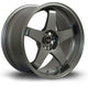 Rota GTR-D, 18 x 10 inch, 5114 PCD, ET12 in Steelgrey Single Rim