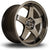 Rota GTR-D, 18 x 9.5 inch, 5114 PCD, ET12 in Hyper Black Single Rim