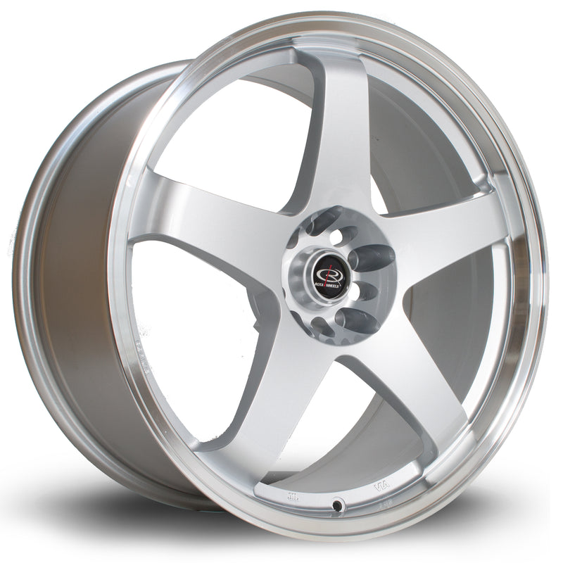 Rota GTR, 19 x 9 inch, 5114 PCD, ET20 Silver with Polished Lip - Rotashop