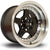 Rota Kyusha, 15 x 9 inch, 4100 PCD, ET0 Black Polished Lip