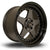 Rota Kyusha, 17 x 9.5 inch, 5114 PCD, ET12 Flat Gunmetal with Gloss Black Lip