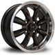 Rota RB, 15 x 7 inch, 4100 PCD, ET30 Gunmetal Polished Lip