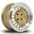 Rota Speciale, 15 x 7 inch, 4108 PCD, ET35 in Gold Polished Lip Single Rim